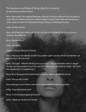 The Expectations and Realities of Being a Black Girl in America