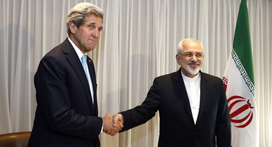 U.S.+Secretary+of+State+John+Kerry+meets+with+Iranian+Foreign+Minister+Mohammad+Javad+Zarif.