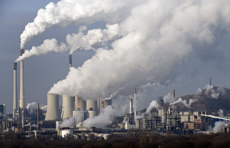 The US is the world's leading producer of carbon emissions