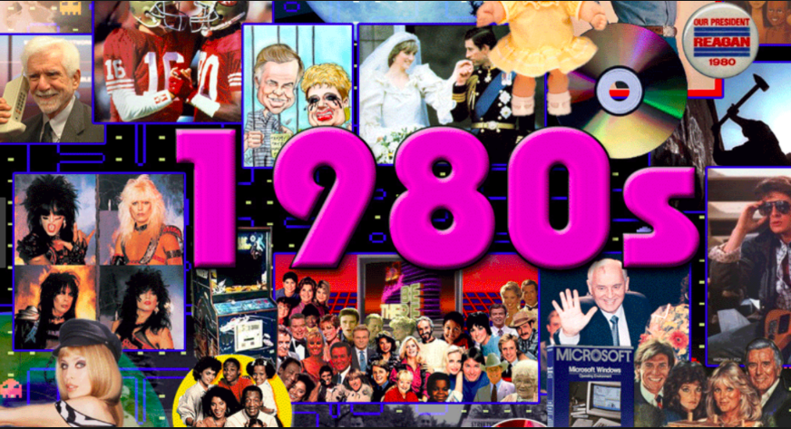 Why Are We so Obsessed with the 80's?