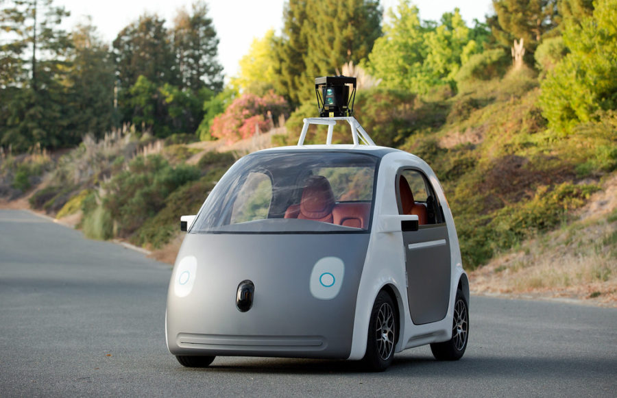 This+image+provided+by+Google+shows+a+very+early+version+of+Google%27s+prototype+self-driving+car.+The+two-seater+won%27t+be+sold+publicly%2C+but+Google+on+Tuesday%2C+May+27%2C+2014+said+it+hopes+by+this+time+next+year%2C+100+prototypes+will+be+on+public+roads.+%28AP+Photo%2FGoogle%29