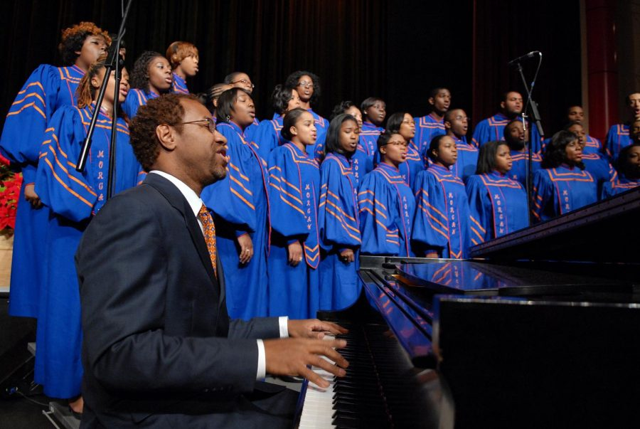 Morgan State University Choir Visits SSFS