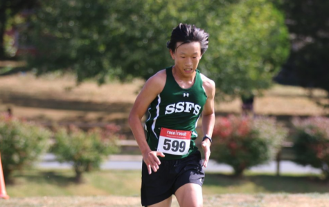 Joseph Chae running for greatness.