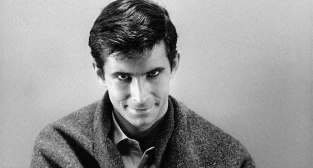 Norman Bates in Psycho (1960)